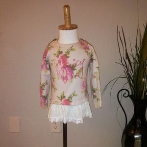 Floral Juicy Couture Shirt